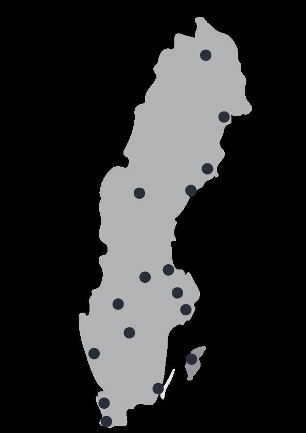 Lagen om skydd mot olyckor är långtgående. Bransäkra finns i hela Sverige.
