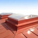 Röklucka för tak, vägg eller marknivå